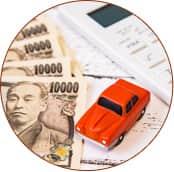 自賠責保険運用で<span>窓口負担0円!</span><br>通院にかかる<span>交通費や休業補償もつく!</span>